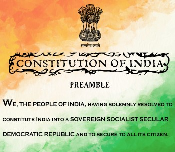 The Preamble to our constitution